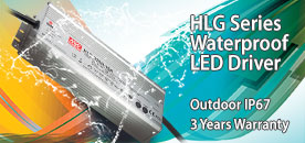 Mean Well HLG LED Power Supply